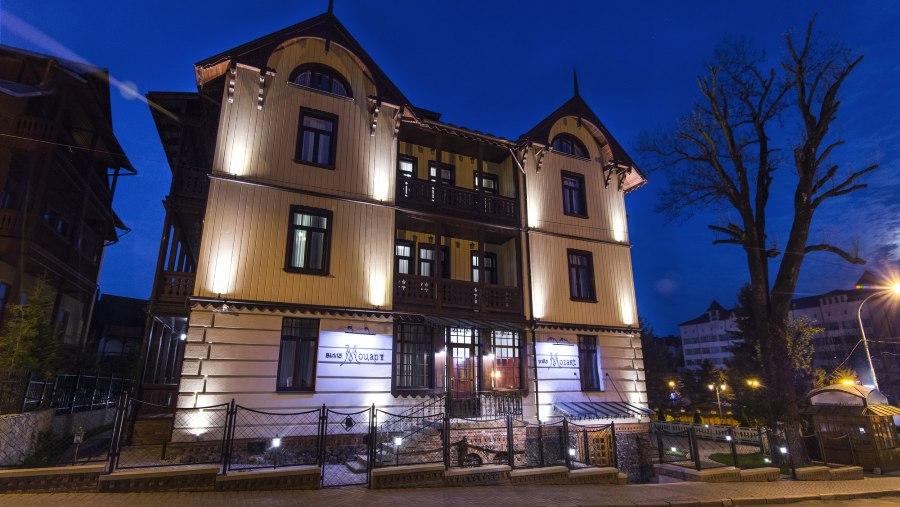 Отель «Вилла Моцарт» — Трускавец
