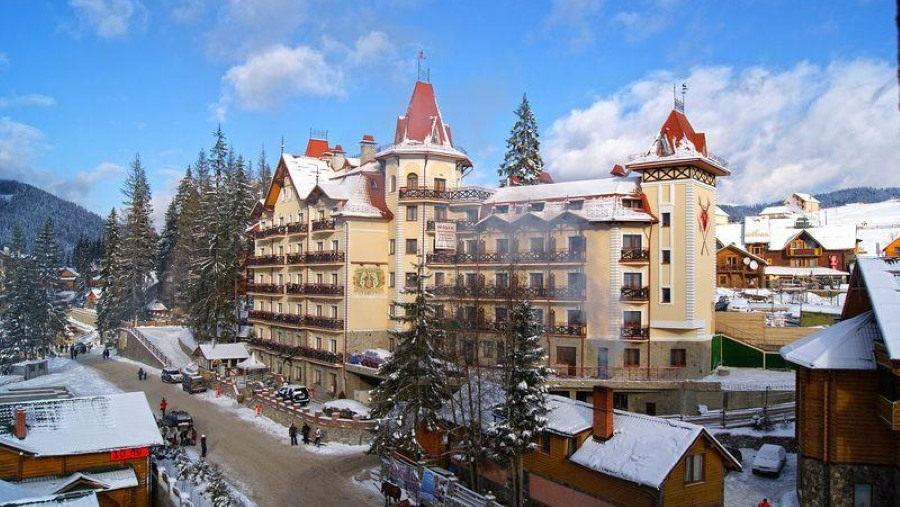 Отель «Патковски» — Буковель